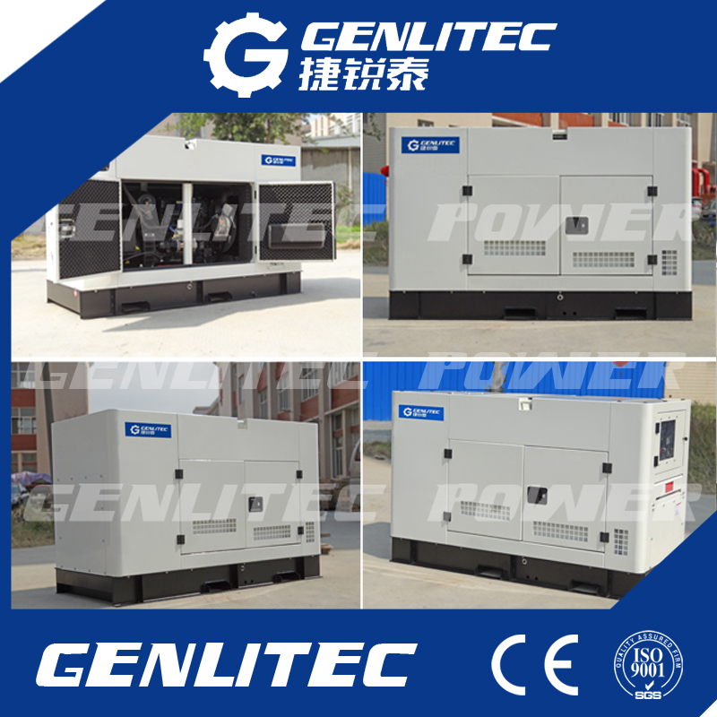 Chinese 100kw 125kVA Diesel Generator with Copy Stamford Alternator