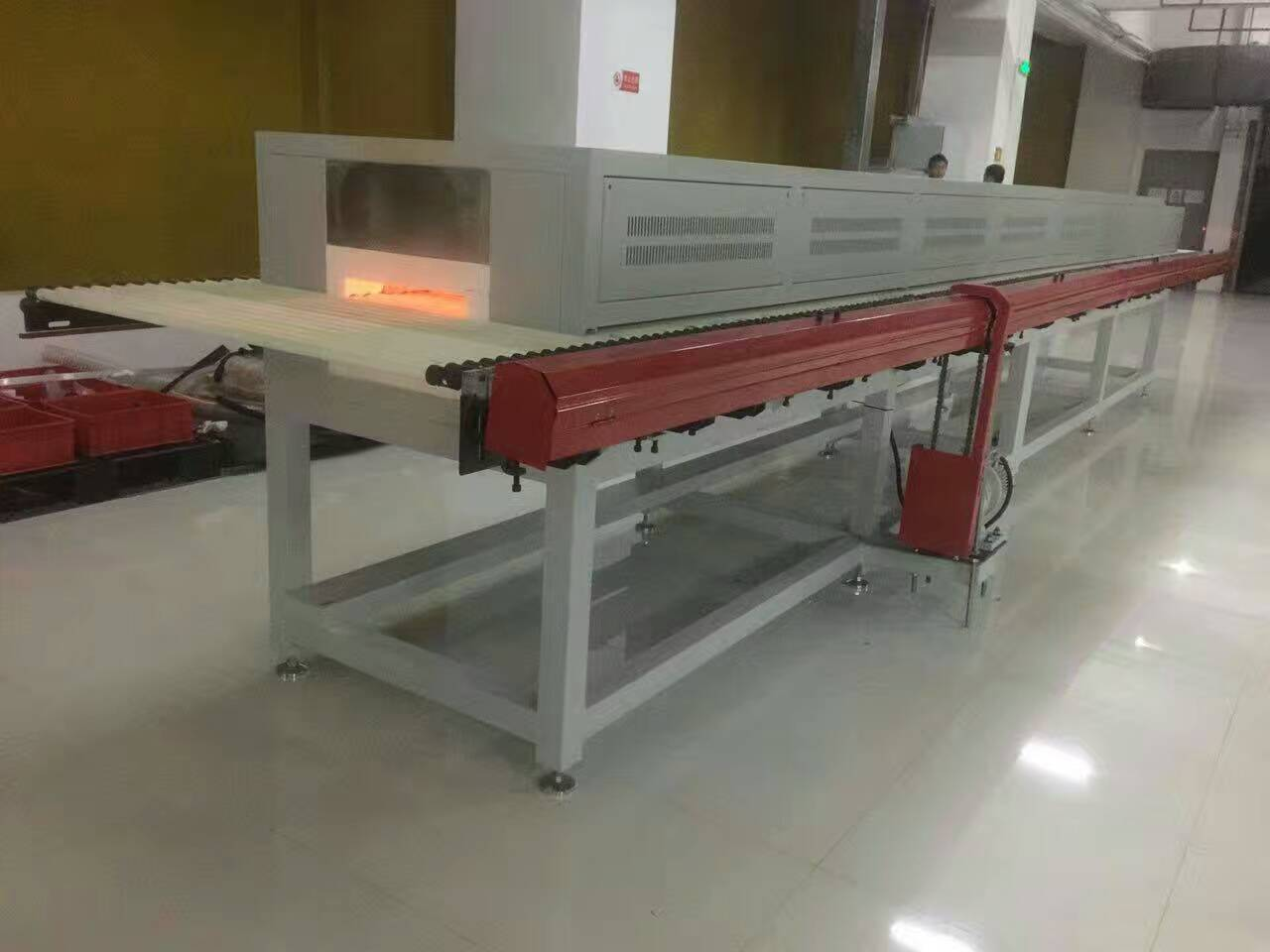 1200 C Heating Treatment Ceramic Roller Kiln For Ceramic Tiles