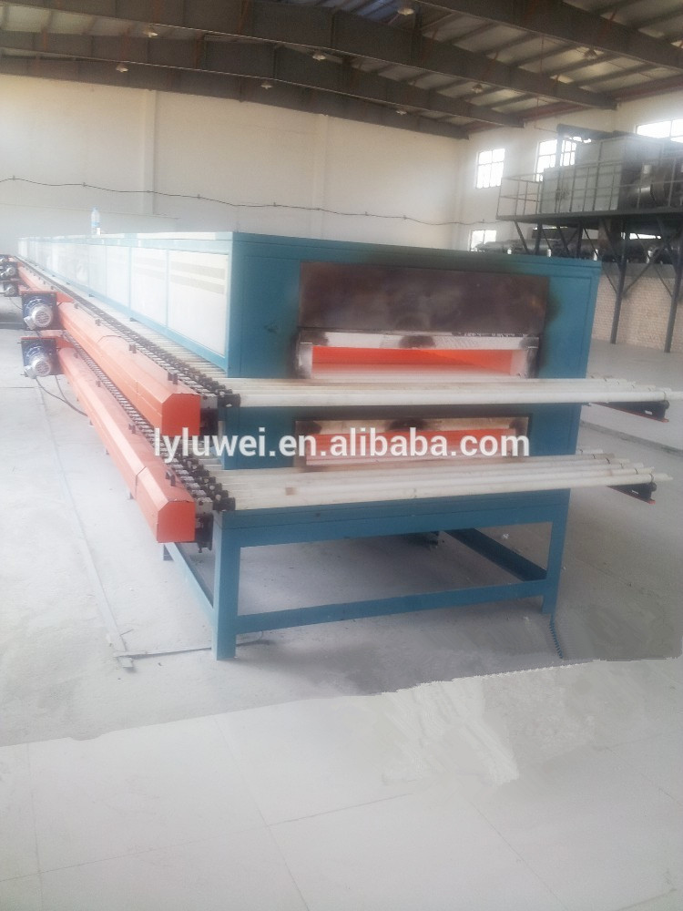 Electric Roller Hearth Kiln with 1400C