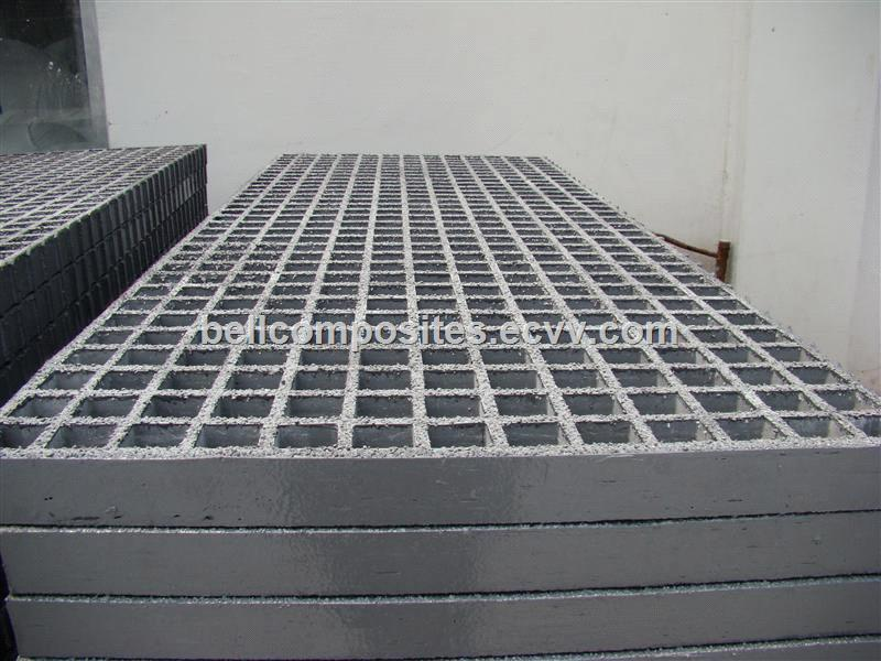 Frp Grp Fiberglass Grating Composite Panel Anti Slip