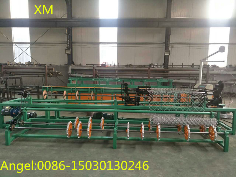 3m Width Double Wire Full Automatic Chain Link Fence Machine