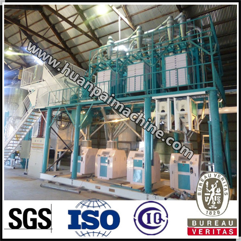 Hot Sell 50 Ton Maize Mill Machine for Sell