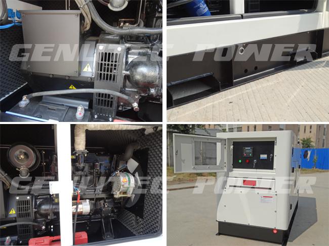 Yangdong YSD490D Engine 20kVA Silent Diesel Generator Set