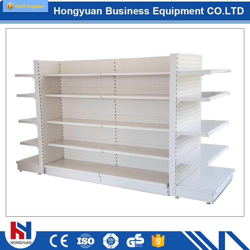 Supermarket Rack Type and Heavy Duty Style gondola supermarket shelf bracket
