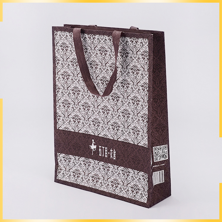 Wholesale Creative Design Enviornmental Craft Paper Gift Bag For