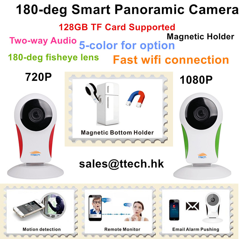WIFI 180deg Panoramic Camera