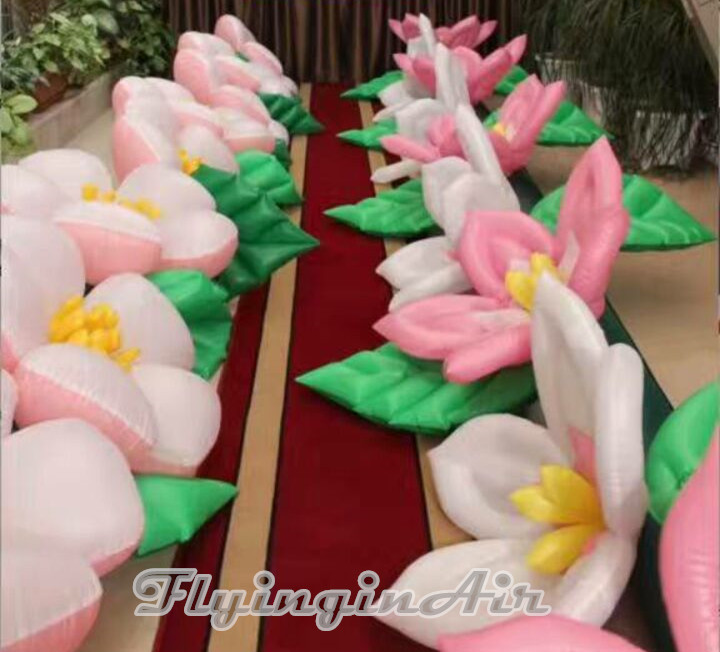 Bloom Inflatable Flower Chain for Wedding/Stage Decoration