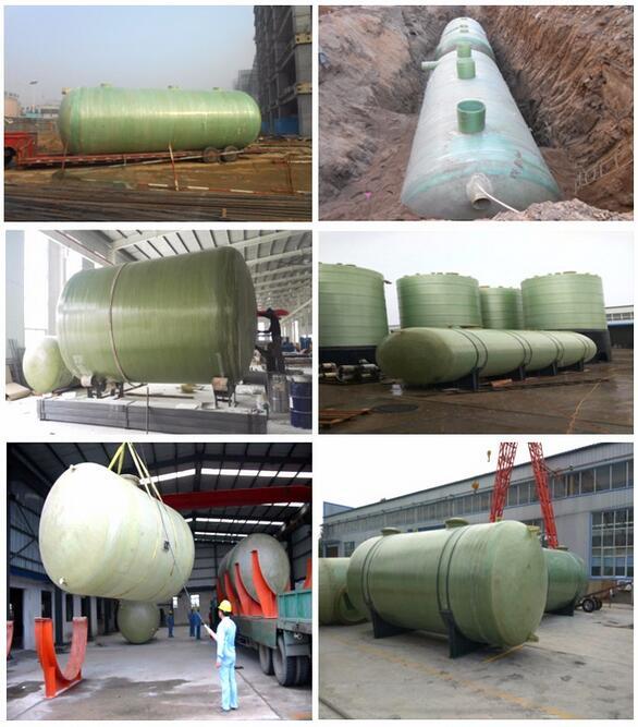 Fiberglass Reinforced Plastic Storage Tank