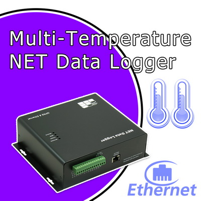 Network Data Logger with multipoint sensors