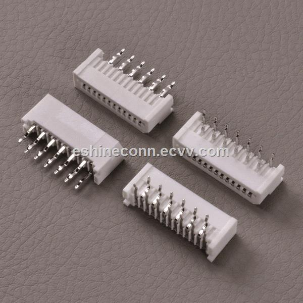Front flip actuators type FPC connector for digital camera 08mm pitch