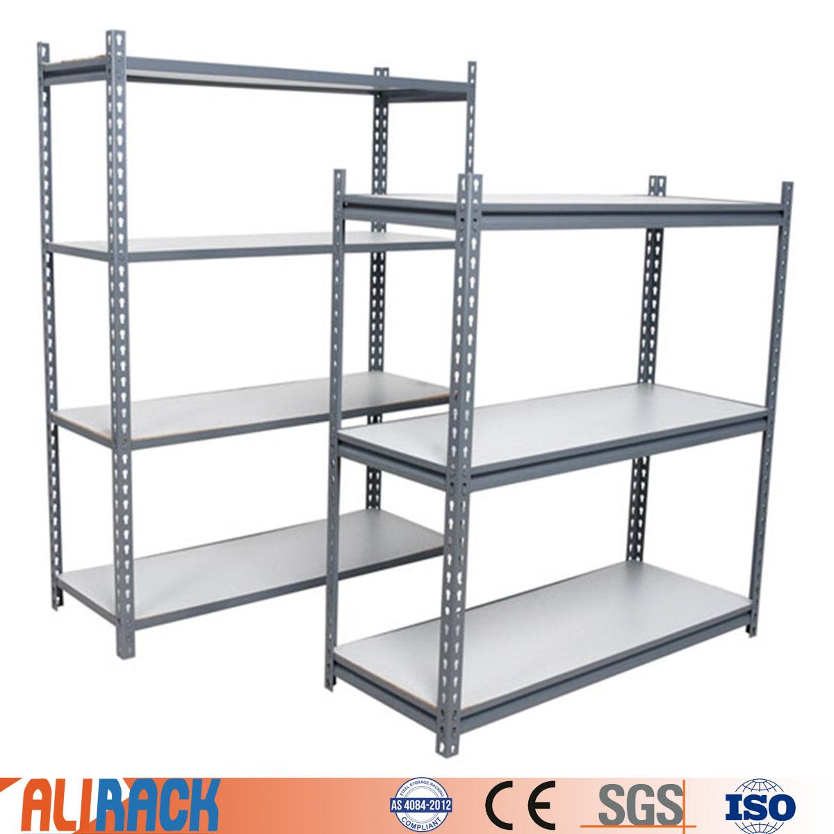 Ali racking light duty shelving racking boltless rivet shelving adjustable metal storage shelving racks