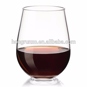 6fec0bf51f5 16 Oz PET Plastic Wine Glasses from China Manufacturer, Manufactory ...