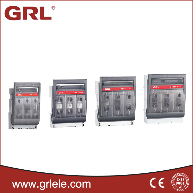 3 phase 4 phase electrical isolator types busbar isolator nh fuse switch  disconnector isolator switch from china manufacturer, manufactory,