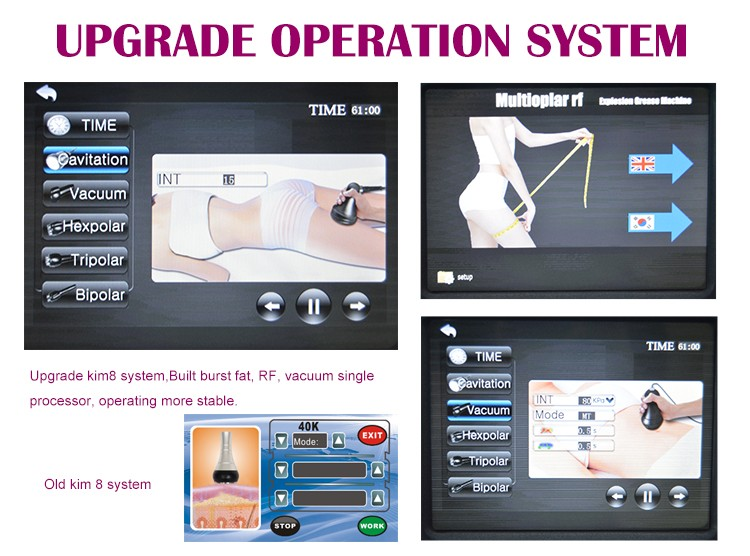 Wholesale Ultrasound Cavitation MachineFast Cavi Lipo MachinePerfect Slim Cavitation