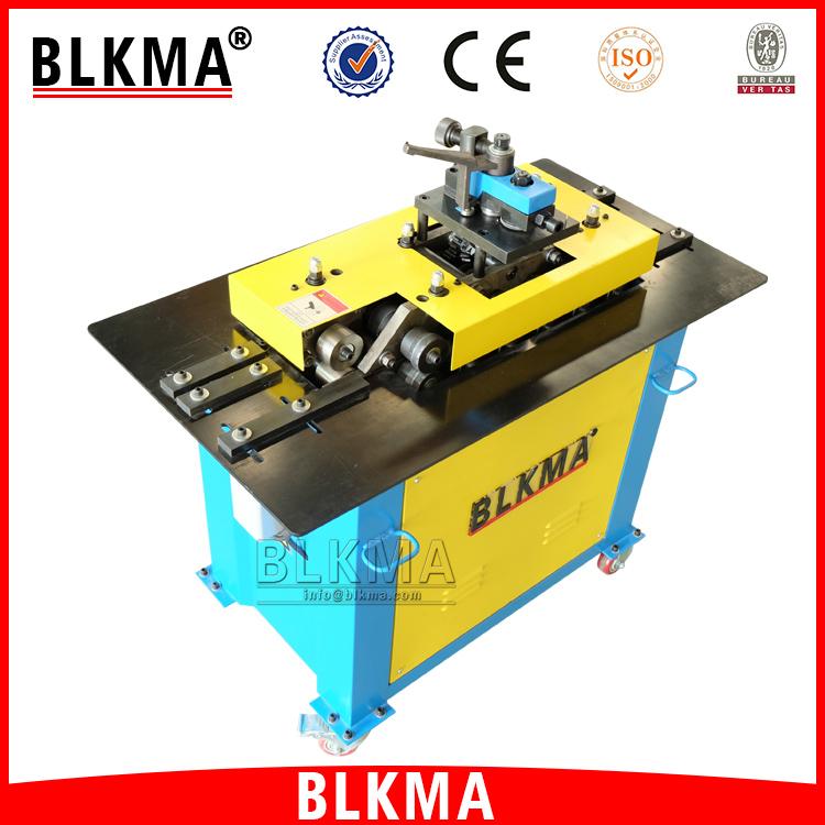 BLKMA Brand Square HVAC Duct Equipment Pittsburgh Lock Forming Machine /  Lock Former Machine