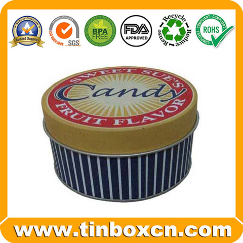 Candy Tin Candy Box Candy Tin Box Confectionary Tin Box BR1605