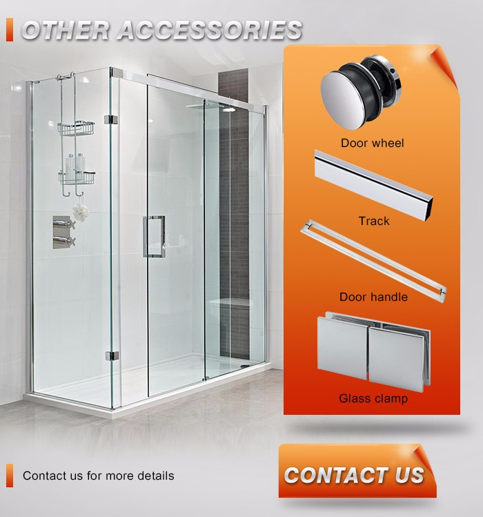 Framless Glass Sliding Door Hardware