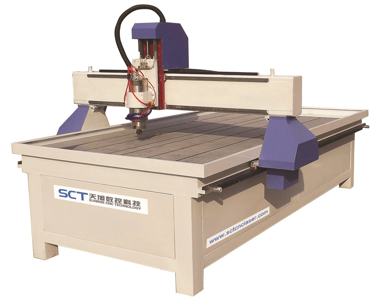 SCTS6090L Advertising Material Engraving Cutting Multifunctions CNC Router