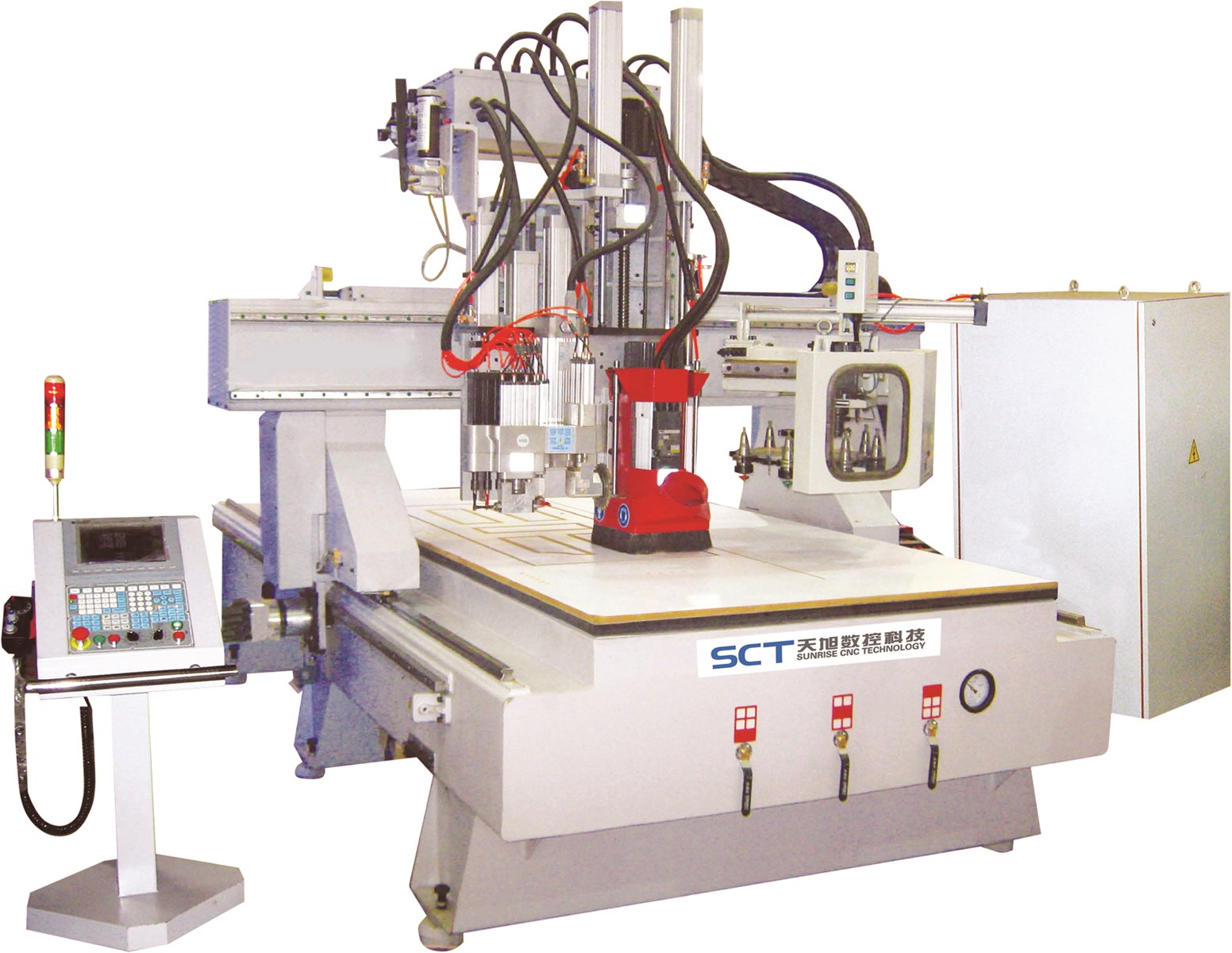 SCT-S1325C Automatic Machine 1500*3000mm China Equipment ATC CNC ROUTER