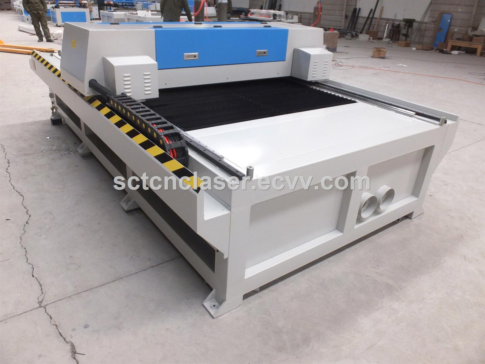 SCT 1325 Metal and NonMetal Laser Cutting Machine