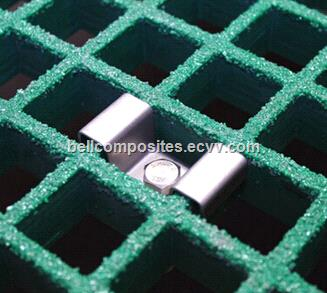 FRP Molded Grating Clips, Grating Clips, M-Clips, C-Clips, G-Clips.
