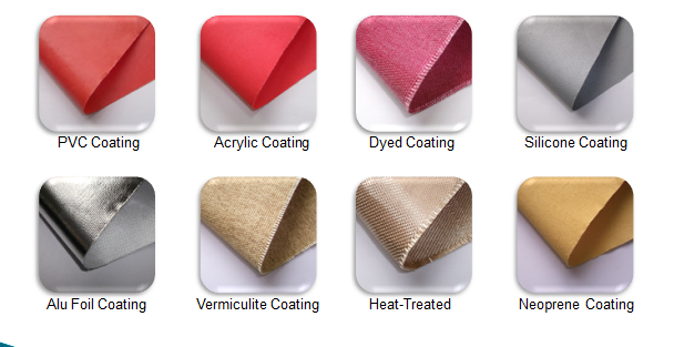 Coated Fiberglass Fabric Cloth from China Manufacturer, Manufactory