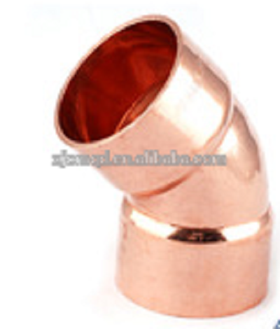 Elbow 45° Copper Plumbing Pipe End Feed All Sizes
