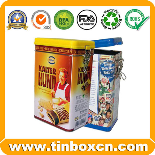 Cookie Tin Box Biscuit Tin Can Cake Tin Food Tin Box Food Tin Packaging BRT57