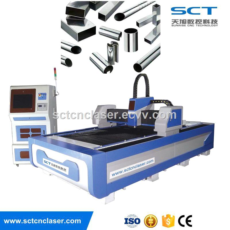 SCT 500W Fiber Laser Cutting Machine for Metal Processing