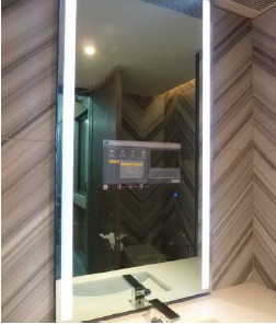 2017 New Bathroom TV with Mirror