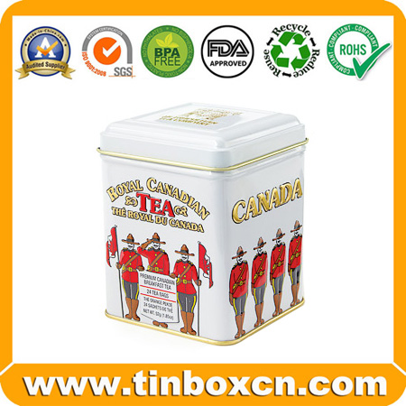 Tin Box, Tin Can, Tea Tin Packaging, Food Tin Packing (BR1201)