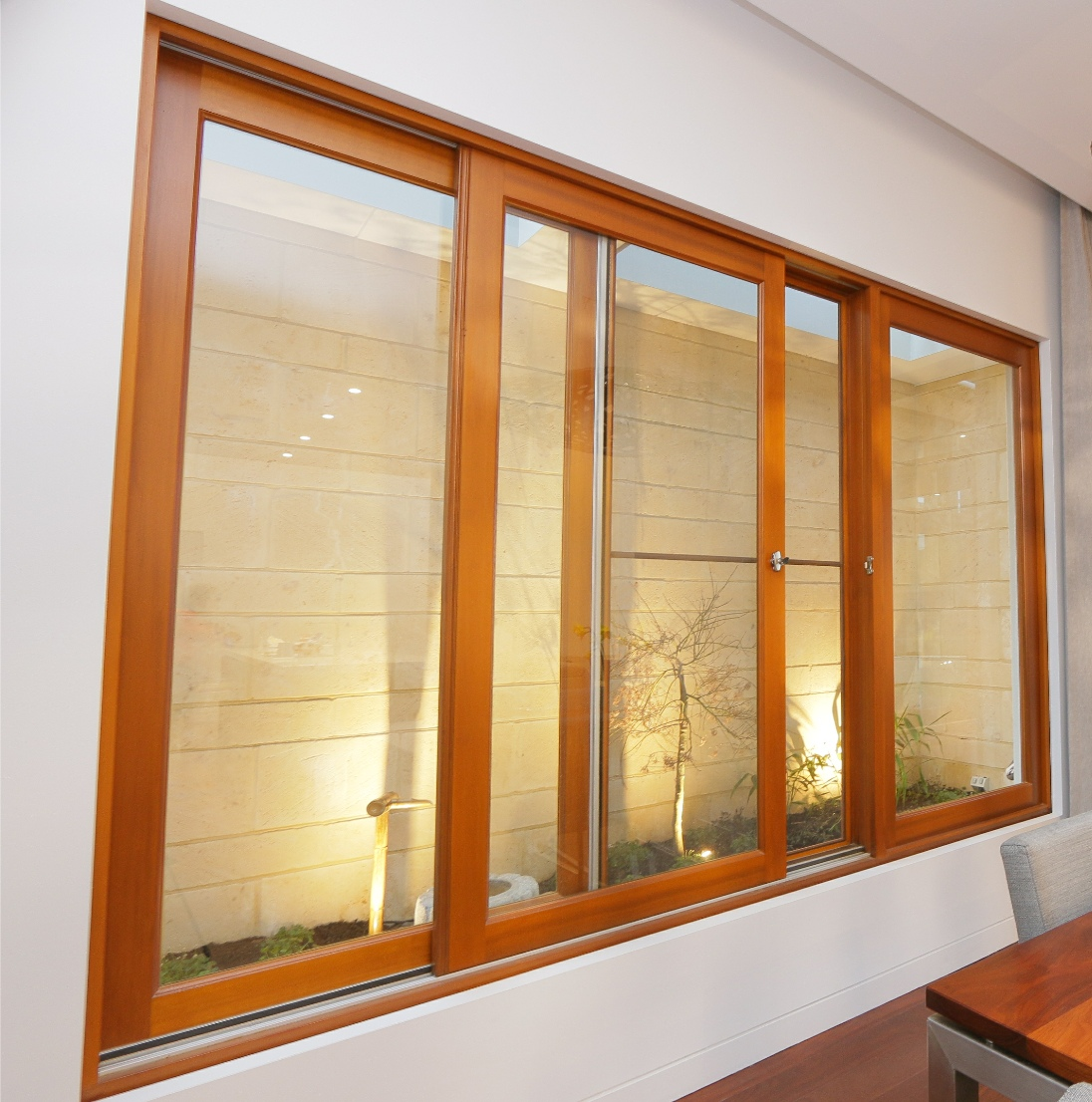 Single Pane Horizontal Storm Custom Color Sliding Glass