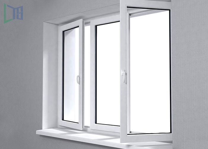 Casement Gray Profile Alloy Aluminum Window Door Manufacture