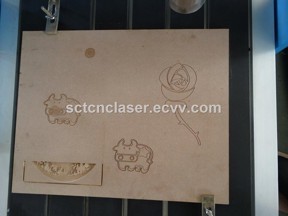 SCT High Precision 6090 Desktop CNC Router Engraver for Advertising