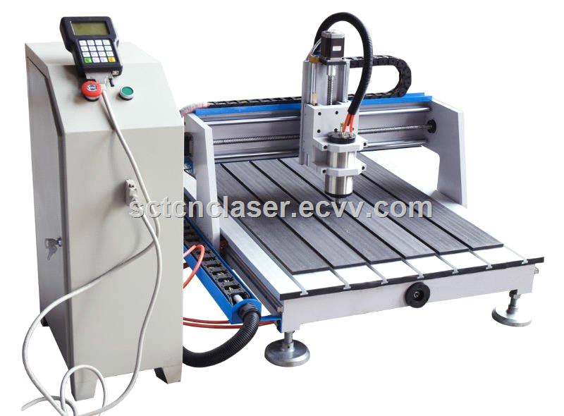 Simple Operation Desktop Hobby CNC Engraving Machine 6090 for Aluminium