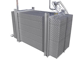 High Efficiency Pillow Plate Heat Exchanger for Fresh Produce