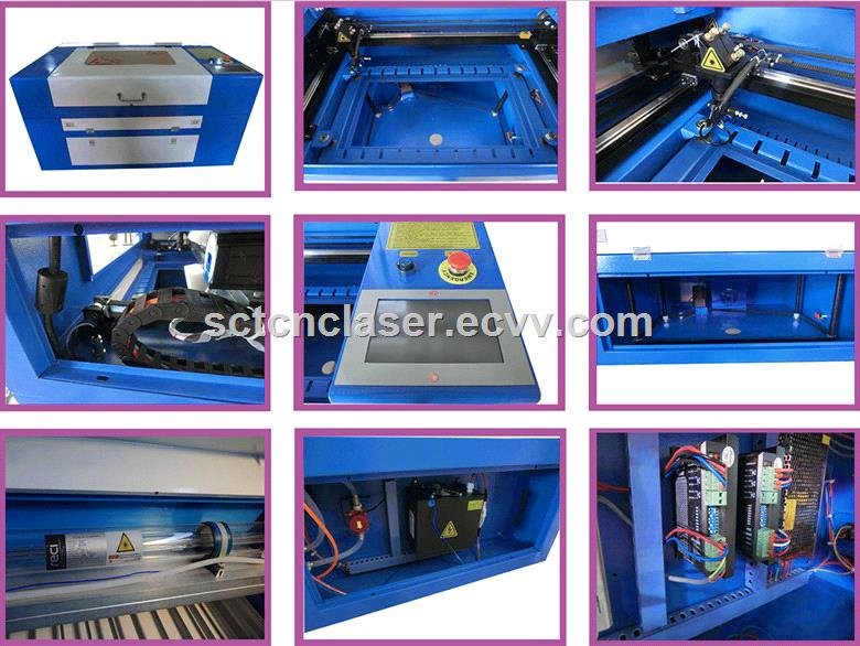 SCT Metal & Nonmetal Laser Cutting Machine
