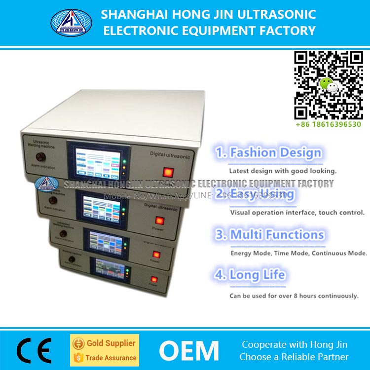 Hongjin Ultrasonic Welding Generator for Sale