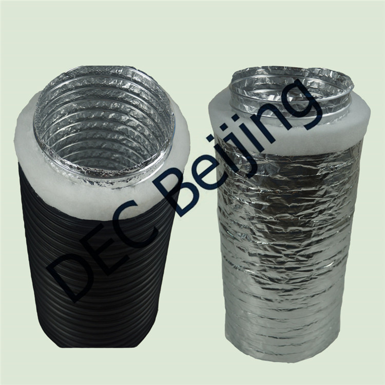 Best Selling Polyester Insulation R1 0 Insulated Flexible Duct In Australia
