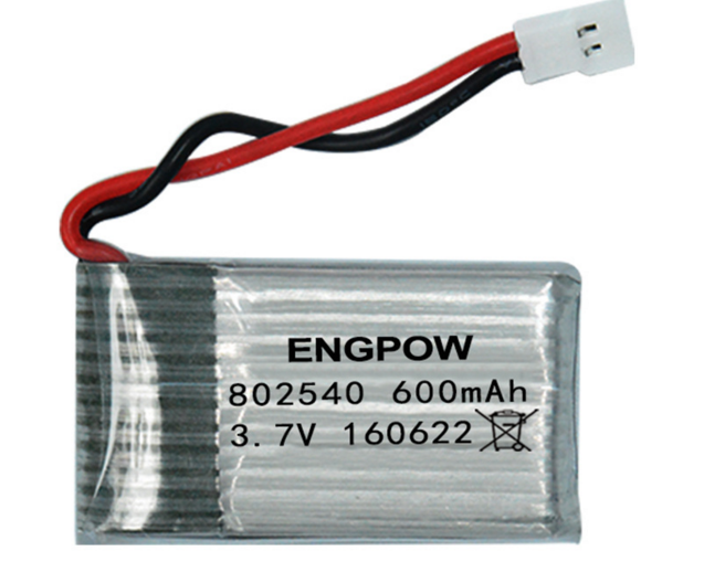 Sima X5C X5SW Hengqi 905 Chengxing CX-30 Tianke M68 Four-Axis Aircraft 3.7V 600mAh Battery