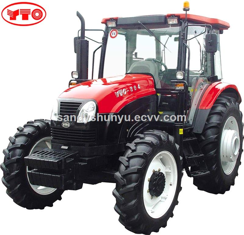 80HP 4WD YTO X804 tractor