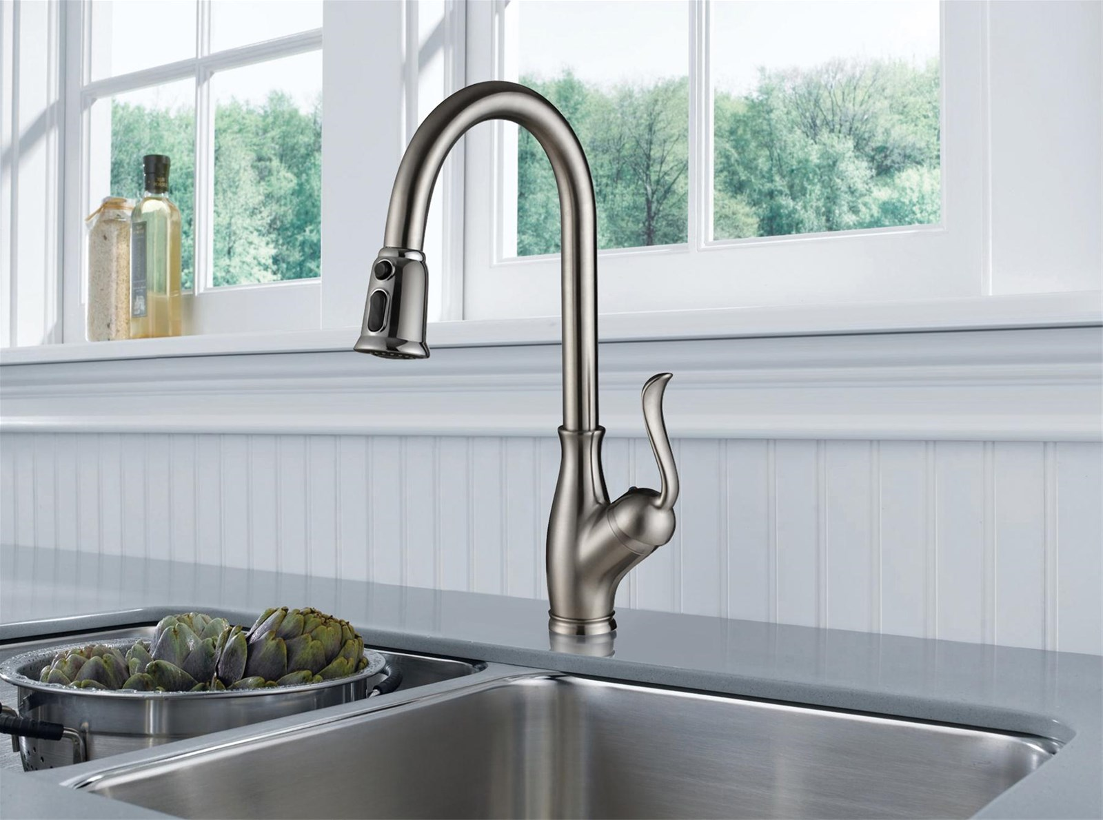 Export American Single Handle Pull-Down Kitchen Faucet purchasing ...