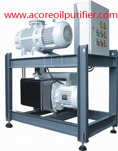 Double Stages Vacuum Pump System