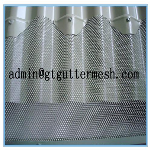 Gutter Mesh, Expanded Aluminium Mesh, Leaf Guard Mesh