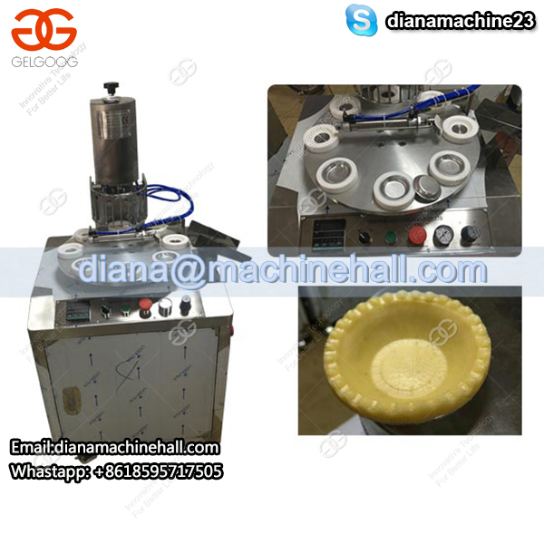 Roatry Egg Tart Skin Making Machine
