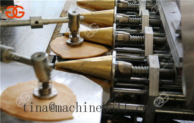 Ice Cream Cone Making Machine,