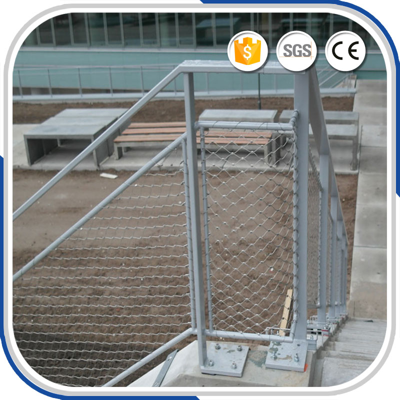 AISI316 X-Tend Wire Rope Net for Handrail Safety purchasing, souring ...