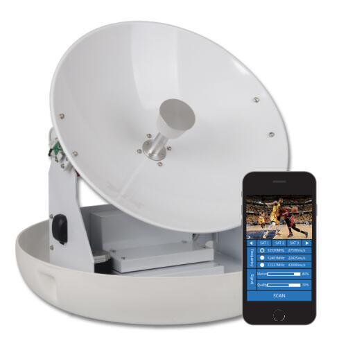 Marine Satellite TV Antenna 45CM