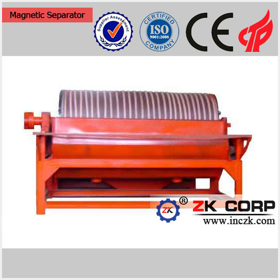 Permanent Fine Ore Drum Magnetic Separator magnetic separator for Mining