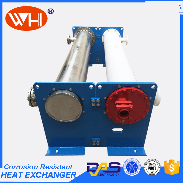 ISO Certification tube and shell heat exchanger types of heat exchangers titanium tube bends